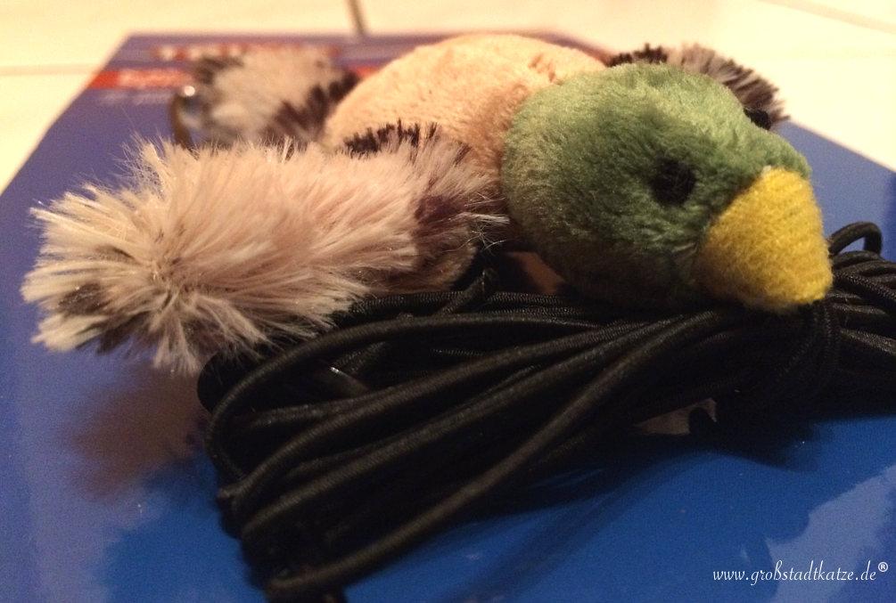 Die Ente, der Türrahmen und TRIXIE