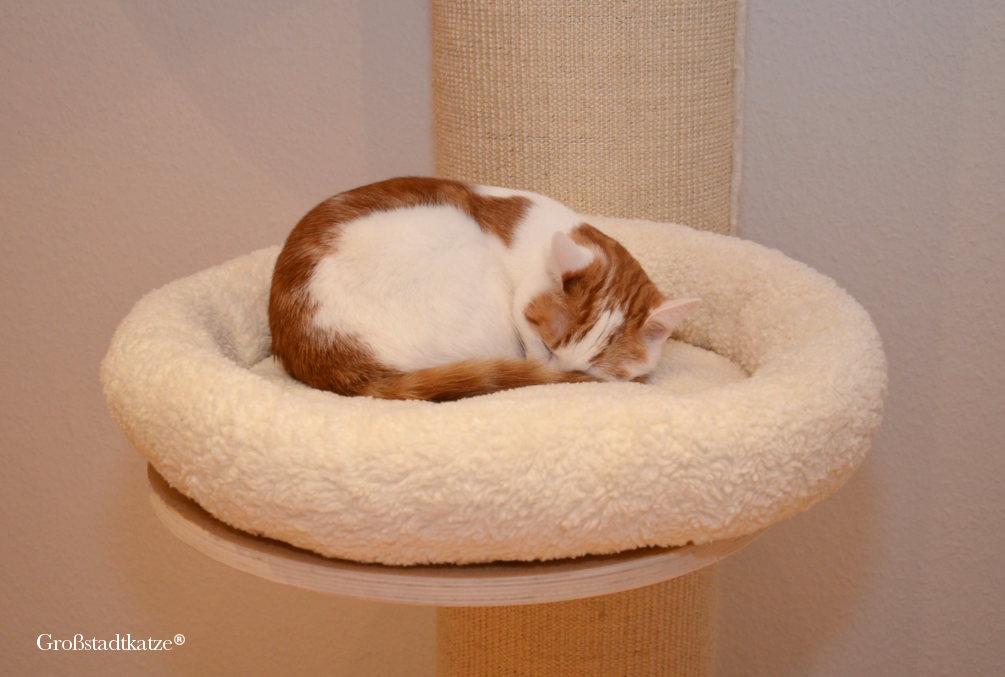 katzenbett mit klett cloud 9 und katzenkuscheldecke cuddle von julinka. Black Bedroom Furniture Sets. Home Design Ideas