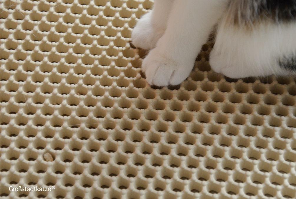 CanadianCat-Company-Zaubermatte-beige-Cat-Litter-Mat-die-Streumatte-für-die-Katzentoilette-5