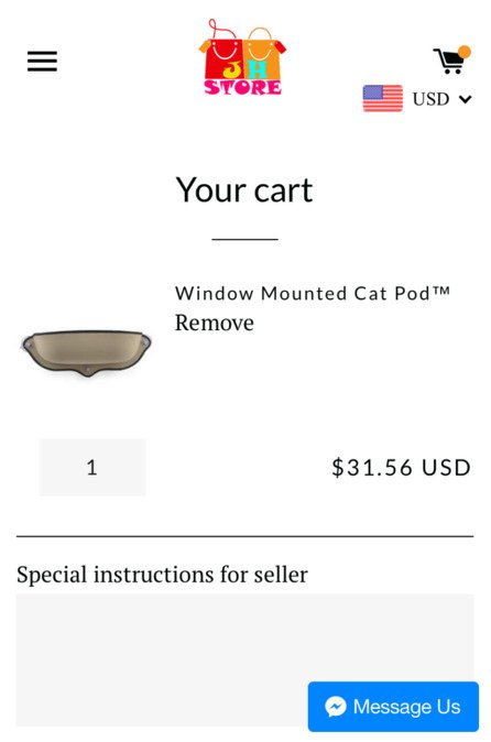 Window Cat Bed | Mount Window Bed Kitty Sill von K&H Manufacturing