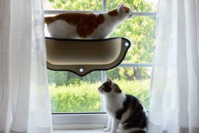 Window Cat Bed | Mount Window Bed Kitty Sill von K&H Manufacturing