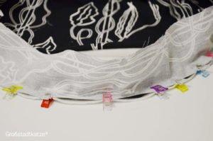 Katzen Lifehack Kissenbett mit Decke |DIY Katze Bettchen nähen