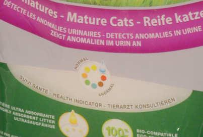 Nullodor Katzenstreu mit Gesundheitsanzeige | Katzenstreu Gesundheit