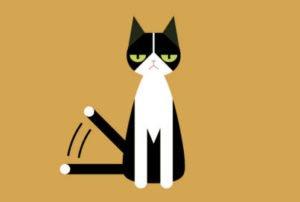 Körpersprache: Katzenschwanz